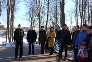В Сенно почтили память воинов-интернационалистов